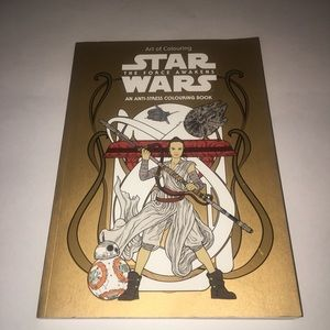 Star Wars The Force Awakens Adult Colouring Book